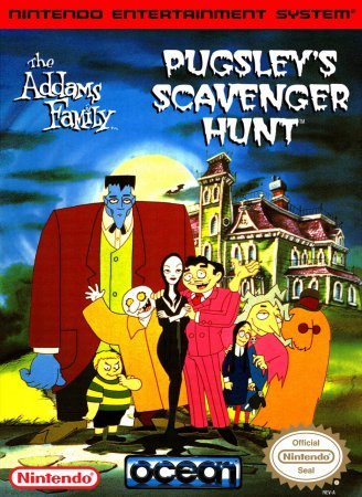Игра Addams Family, The - Pugsley's Scavenger Hunt
