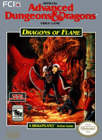 Игра Advanced Dungeons & Dragons - Dragons of Flame