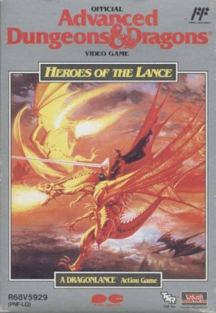 Игра Advanced Dungeons & Dragons - Heroes of the Lance