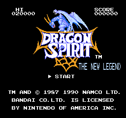 Игра Dragon Spirit - The New Legend [RUS]