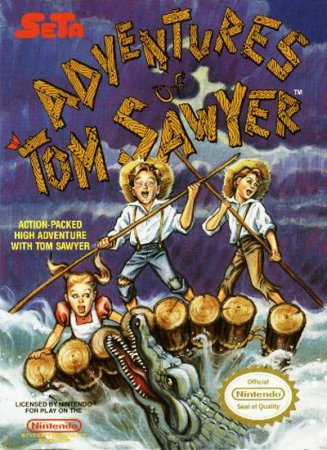 Игра Adventures of Tom Sawyer