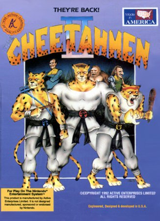 Игра Cheetah Men II