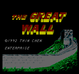 Играть онлайн в Great Wall, The