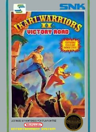 Играть онлайн в Ikari Warriors II - Victory Road