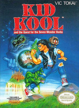 Игра Kid Kool and the Quest for the 7 Wonder Herbs