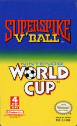 Игра Super Spike V'Ball / Nintendo World Cup