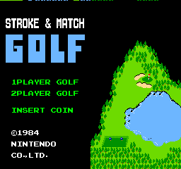 Играть онлайн в Stroke & Match Golf (VS)