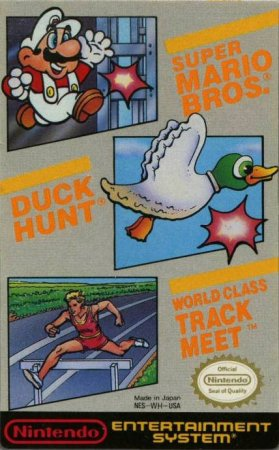 Игра Super Mario Bros. / Duck Hunt / World Class Track Meet
