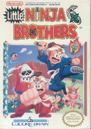 Игра Little Ninja Brothers