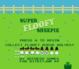 Игра Super Floofy Sheepie