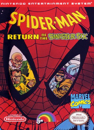 Игра Spider-Man - Return of the Sinister Six [RUS]