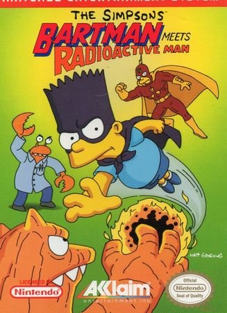 Игра Simpsons, The - Bartman Meets Radioactive Man