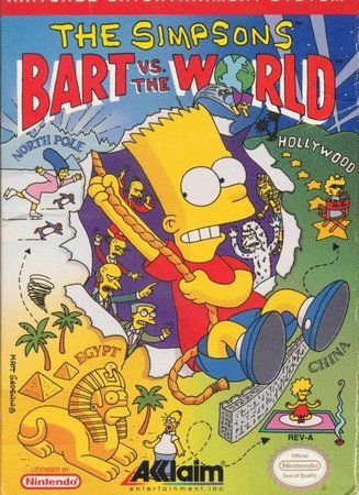 Игра Simpsons, The - Bart Vs. the World