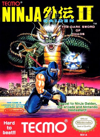 Игра Ninja Gaiden II - The Dark Sword of Chaos [RUS]