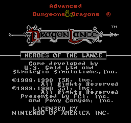 Advanced Dungeons & Dragons - Heroes of the Lance [RUS]