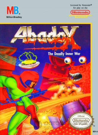 Игра Abadox - The Deadly Inner War