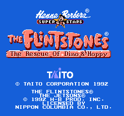 Flintstones, The - Rescue of Dino & Hoppy