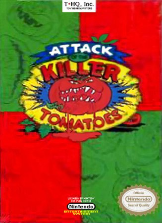 Играть онлайн в Attack of the Killer Tomatoes