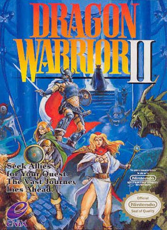 Dragon Warrior II (RUS)