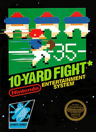 Игра 10-Yard Fight
