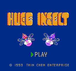 Игра Huge Insect