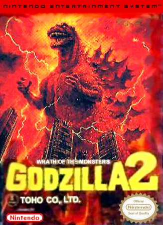 Игра Godzilla 2 - War of the Monsters