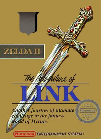 Играть онлайн в Zelda II - The Adventure of Link