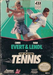 Игра Top Players' Tennis - Featuring Chris Evert & Ivan Lendl