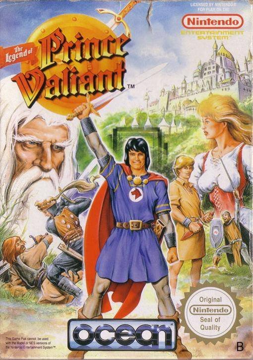 Играть онлайн в Legend of Prince Valiant, The