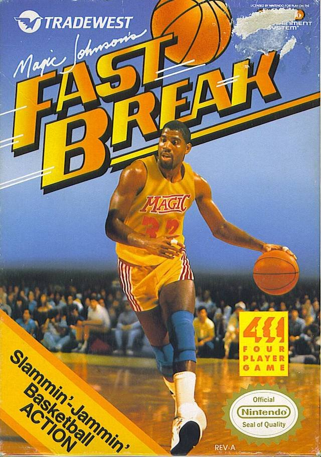 Игра Magic Johnson's Fast Break