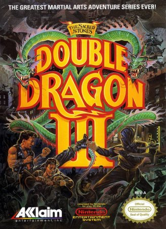 Double Dragon III: The Sacred Stones (ENG/RUS)