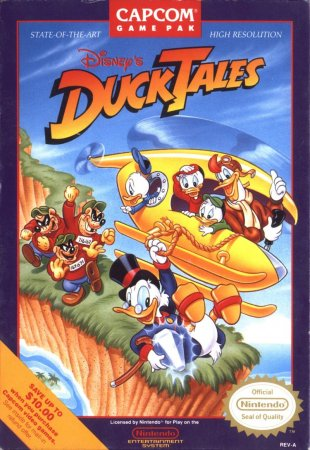 Играть онлайн в Disney's DuckTales (RUS)