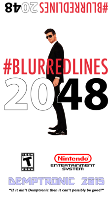 Blurred Lines 2048