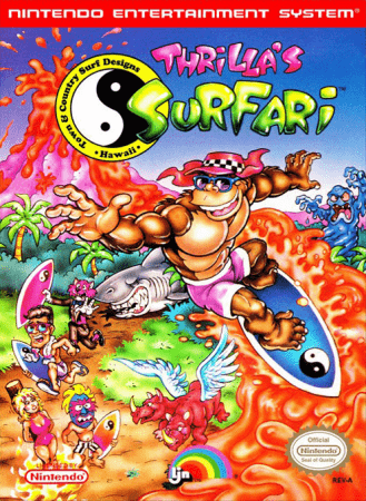 Играть онлайн в T&C Surf Designs: Thrilla's Surfari