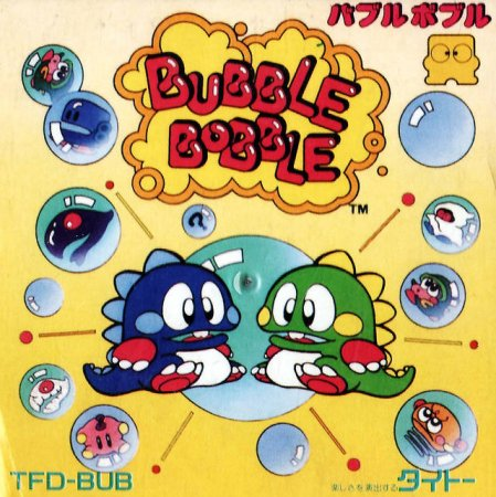 Играть онлайн в Bubble Bobble