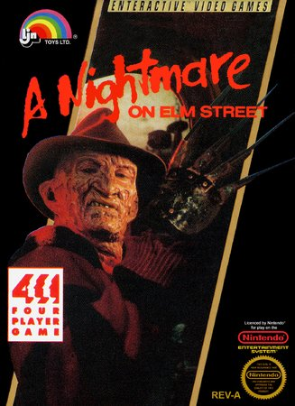 Игра Nightmare on Elm Street, A