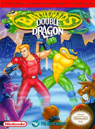 Играть онлайн в Battletoads & Double Dragon - The Ultimate team