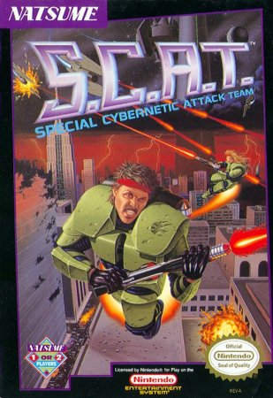 S.C.A.T.: Special Cybernetic Attack Team [RUS]