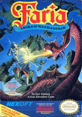 Faria - A World of Mystery & Danger!