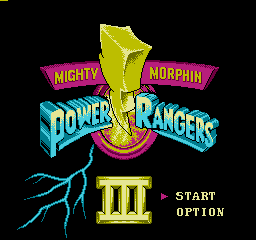 Power Rangers III (Unl)